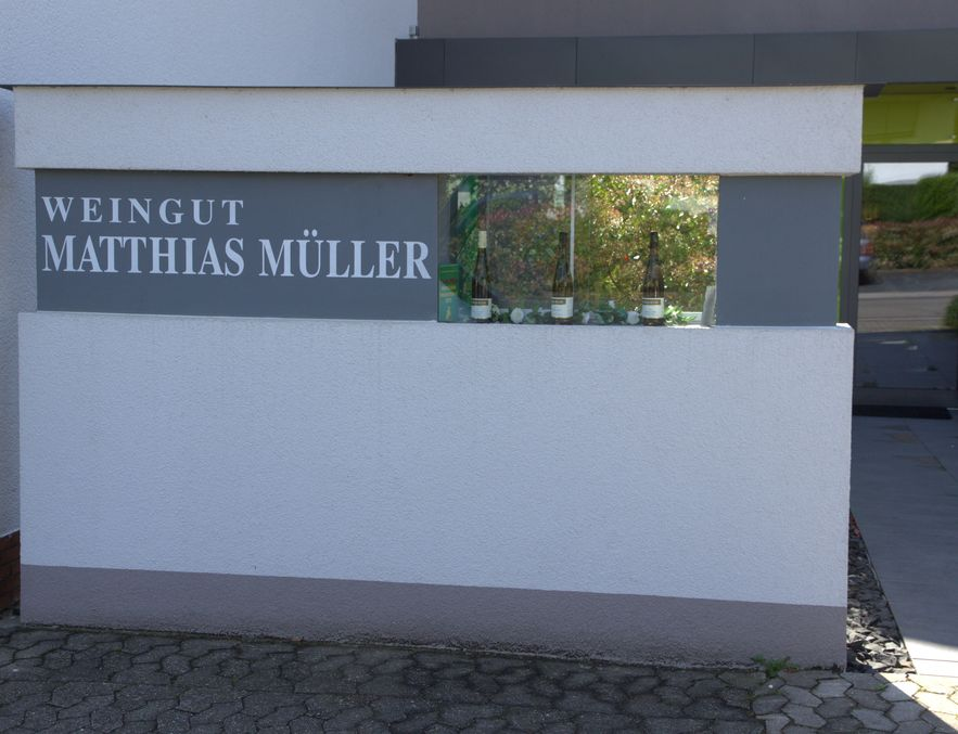 Weingut Matthias Müller Eingang